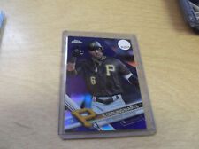 2017 TOPPS CHROME #35 STARLING MARTE PURPLE REFRACTOR MACH #212/299--STORE