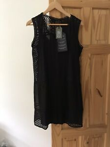 All Saints Black Dress Size Xs New With Tags