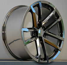 "(4) 20"" X 8 Black Chrome Style 41 ZL1 Fits All 2010 - 15 Camaro Wheels Rims Set"
