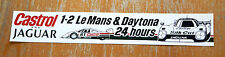 Jaguar Silk Cut Castrol Le Mans & Daytona 24 hours Race Motorsport Sticker Decal