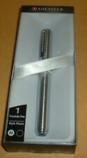 SHEAFFER CHUNKY CHROME FOUNTAIN PEN 9190-0 BRAND NEW SEALED BOX