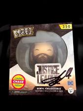Dorbz Justice League Aquaman Chase # 350 Signed Twice Jason Momoa