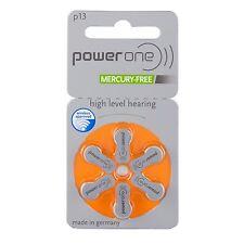 60 x Varta power one hörgerätebatterien p13 PowerONe pr48 10 blister