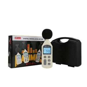 LCD Digital Sound Level Meter 30dB-130dB USB Noise Measurement GM1356