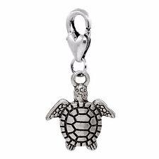 Sea Turtle Beach Ocean Island Animal Lobster Clip On Dangle Charm for Bracelets