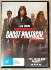 Mission: Impossible - Ghost Protocol (Tom Cruise) DVD **LIKE NEW** (Region 4)