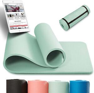NBR Yoga Matte Fitnessmatte Sportmatte Gymnastikmatte Pilates Fitness mit Tasche