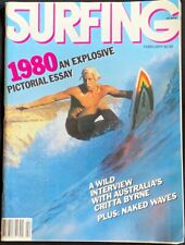 Surfing Magazine February 1980 - An Explosive Pictorial Essay - Vintage Surfing
