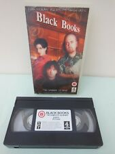 Black Books The Complete 1st Series - PAL VHS (UK) VIDEO Bill Bailey Comedy 2002