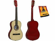 Star Acoustic Guitar 38 Inch with Beginner's Guide, Natural