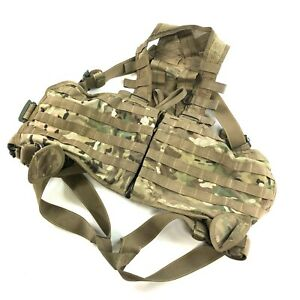 Multicam Aircrew Survival Vest USGI MOLLE Load Bearing Flight US Army Military