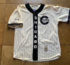 Vintage Starter Cooperstown Collection 1907 Chicago Cubs MLB Baseball Jersey XL