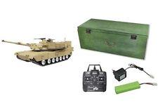 RC Panzer U.S.M1A2 ABRAMS R&S/2.4GHZ Metallketten/Metallgetriebe/QC 23058