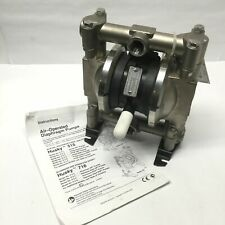 Graco D44381 Husky 716 Ss Air Operated Double Diaphragm Pump 34 Npt 15 Gpm