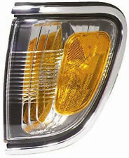 New Left Corner Light Turn Signal with Chrome Trim Fits 2001-2004 Toyota Tacoma