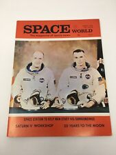 SPACE WORLD MAGAZINE MARCH 1970    RAY PALMER     SATURN V WORKSHOP