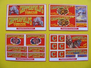 CHIPPERFIELD CIRCUS STICKERS – SERIES 6