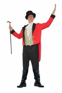 Mens Greatest Showman Ringmaster Circus Fancy Dress Film Costume