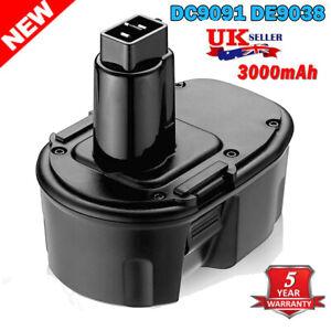 14.4V Battery for DEWALT DE9094 DE9092 DE9091 DE9038 DC9091 DE9502 DC528 3.0AH