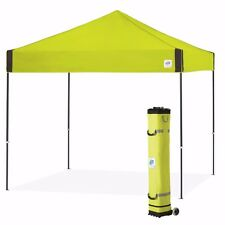 E-Z UP Pyramid 10 x 10ft Canopy Instant Shelter Easy Up - Limeade