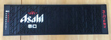 Asahi Super Dry Beer Bar Runner Beer Drip Rubber Mat Brand New 55 x 16.5 x 1 cm
