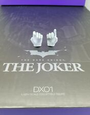 Genuine Hot Toys 1/6 DX01 Batman TDK Joker Heath Ledger Cop White gloved hands !