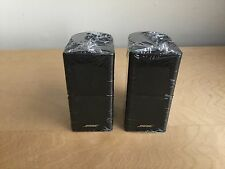 BRAND NEW 2 x Bose Jewel Double Cube  Speakers  - Black