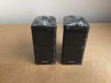 BRAND NEW 2 x Bose Jewel Double Cube  Speakers  - Black