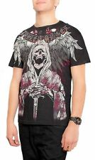 2XL MMA Affliction Med Men/'s Xzavier Dark Angel T-shirt Black Small XL Large