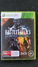 Xbox 360 Game Battlefield 3 Limited Edition Two Discs MA15+ VGC Fast Free Post