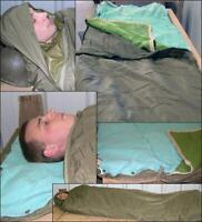 Original Czech Army Issue Three-Piece Sleeping Bag Water Resistant Camping Preps