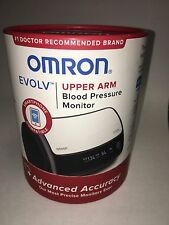 Omron Evolv Upper Arm Blood Pressure Monitor compatible with Iphones and Android