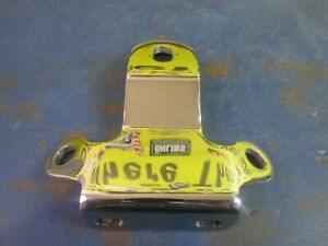 CHROME TOP MOTOR & COIL MOUNT HARLEY DAVIDSON XL XLH XLCH SPORTSTER 1957-1977
