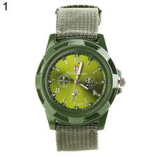 Mens - Boys Gemius Army Quartz Green Faced Luminous Sports Wrist Watch.(Aussie)