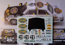 "decal 1/43VOLVO 142 ""HELLA"" SAFARI RALLYE 1971 SOEDESTROM-PALM 24°ass Arena D741"