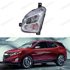 1Pcs Clear Lens Left Front Fog Light Bumper Lamp for Chevrolet Equinox 2018