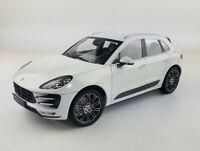 Porsche MACAN TURBO SUV 2013 Metal Diecast Model Car 1:18 Scale Boy Gift