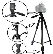 "Super Tripod 60"" With Case & Bubble Level For Panasonic HDC-SDT750 3D Camcorder"