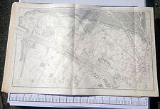 Paris XVI ème - Selves Préfet Très Rare Plan de 1905 au 1/5000 (66,5 x 105 cm)