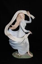 "Goebel Porcelain, USA, Laszlo Ispanky, Bisque Finish, SPRING FEVER, 12 1/4"" LE"