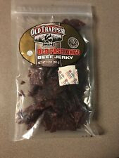 NEW Old Trapper Beef Jerky 10oz Naturally Smoked Old Fashioned Original