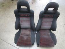 Front Seats Complete Honda CRX JDM SI HF DX 88-92 Ef8 / EE8 / ED9 ***rare***