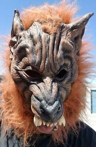 Loup-Garou Taille Adulte Halloween Masque