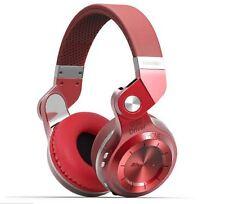Bluedio T2S Turbine Red Headband Headsets