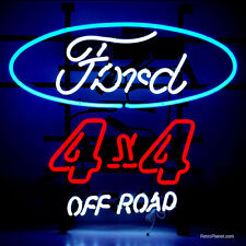 Ford 4x4 Off Road Neon Sign 5F4X4X w/ Free Shipping