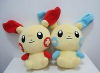 "Plusle Minun Set Pokemon Center 2004 Japan Pokedoll DX 14""  Large Plush Doll"
