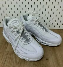 Nike Air Max 95 Essential Triple White Pure Platinum (AT9865-100) Men's Sz 11.5