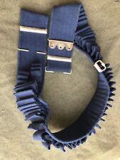 Mills M1894 Blue Cavalry 100 round XL cartridge belt for .30-40 Krag- All Woven
