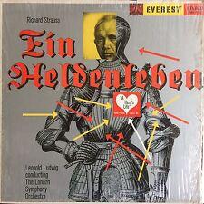 Richard Strauss Ein Heldenleben, Leopold Ludwig, LSO Everest Stereo LP
