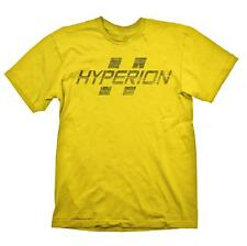 Zone di frontiera Hyperion LOGO T-SHIRT S GIALLO (ge1706s)